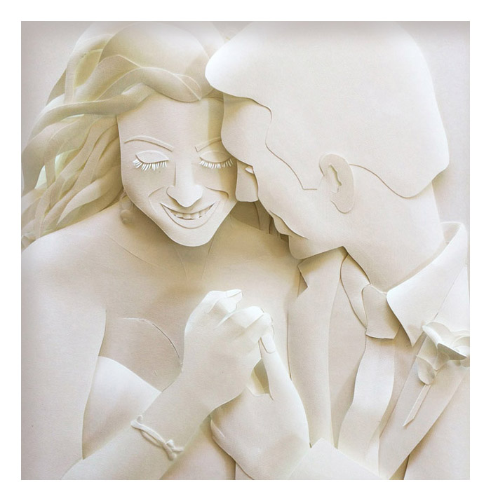 Karin Arruda Paper Art - All you Need is Love