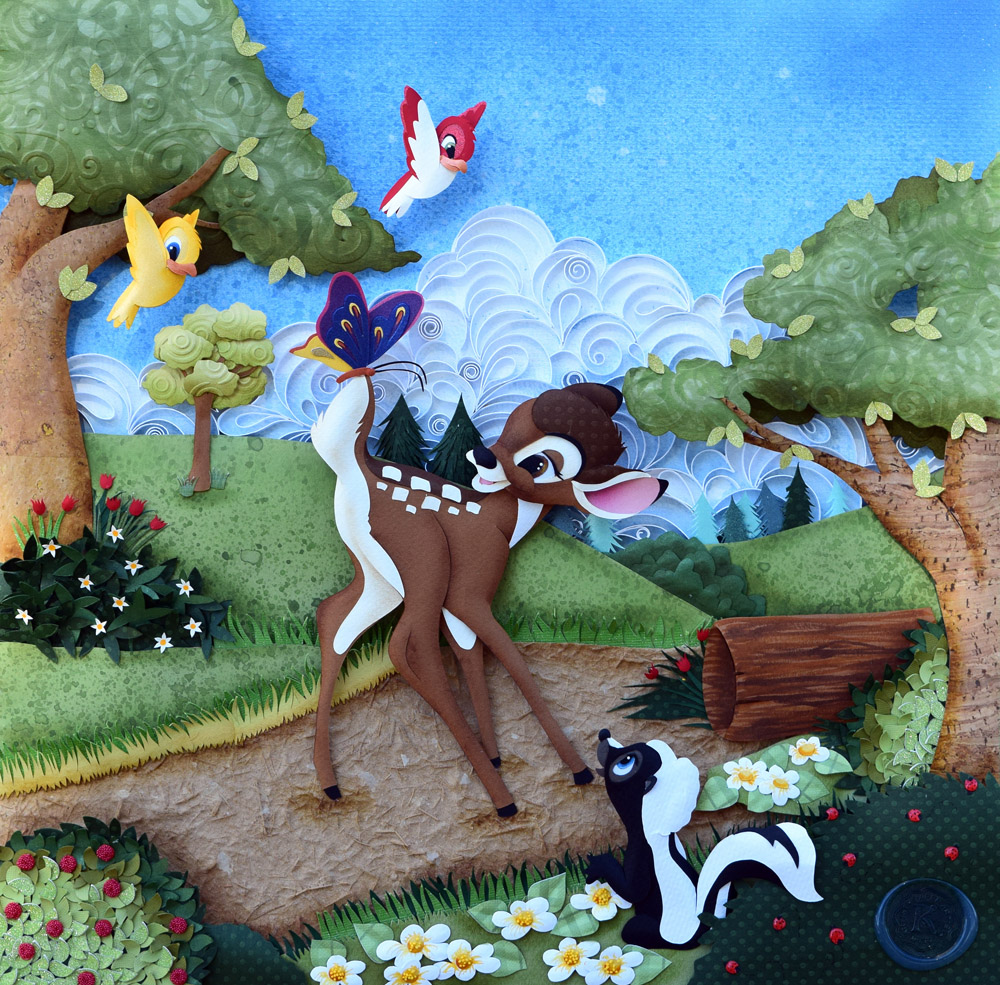 Karin Arruda - Bambi and Flower