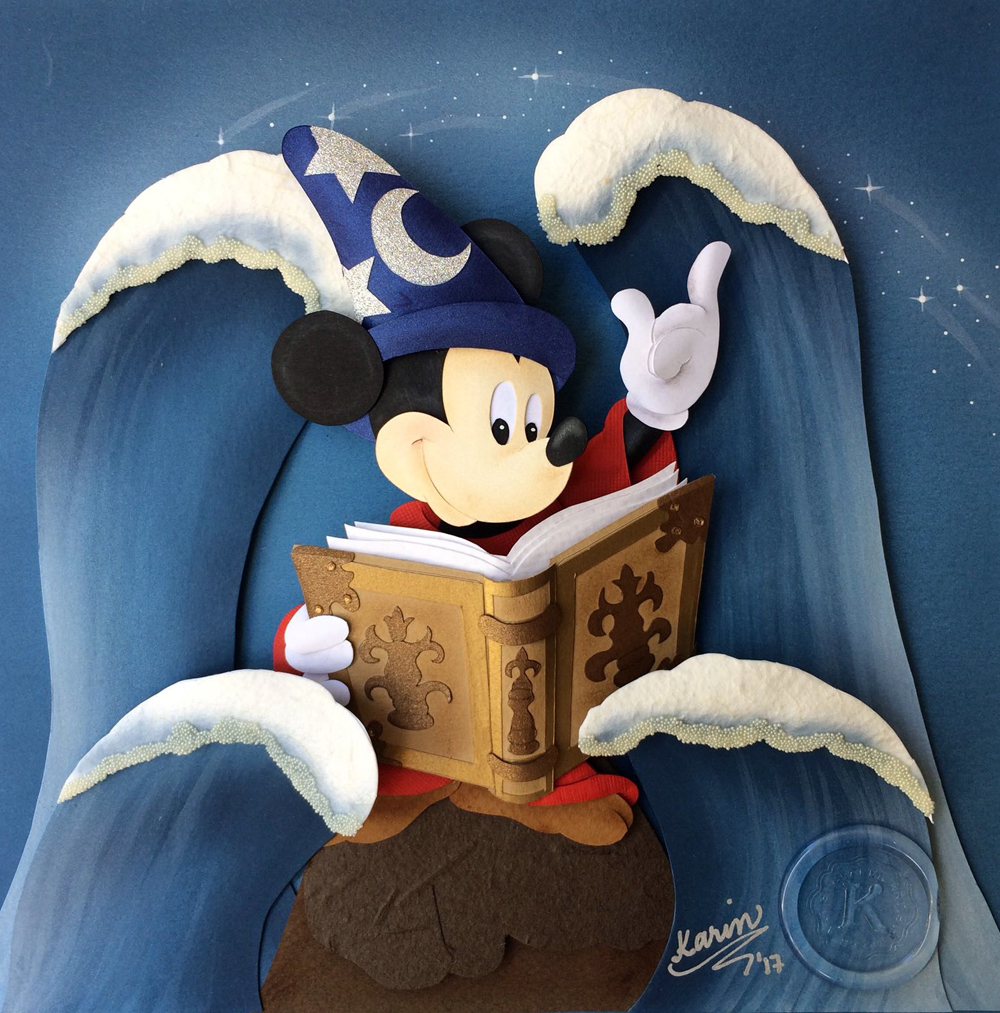 Karin Arruda - Mickey`s Book of Magic
