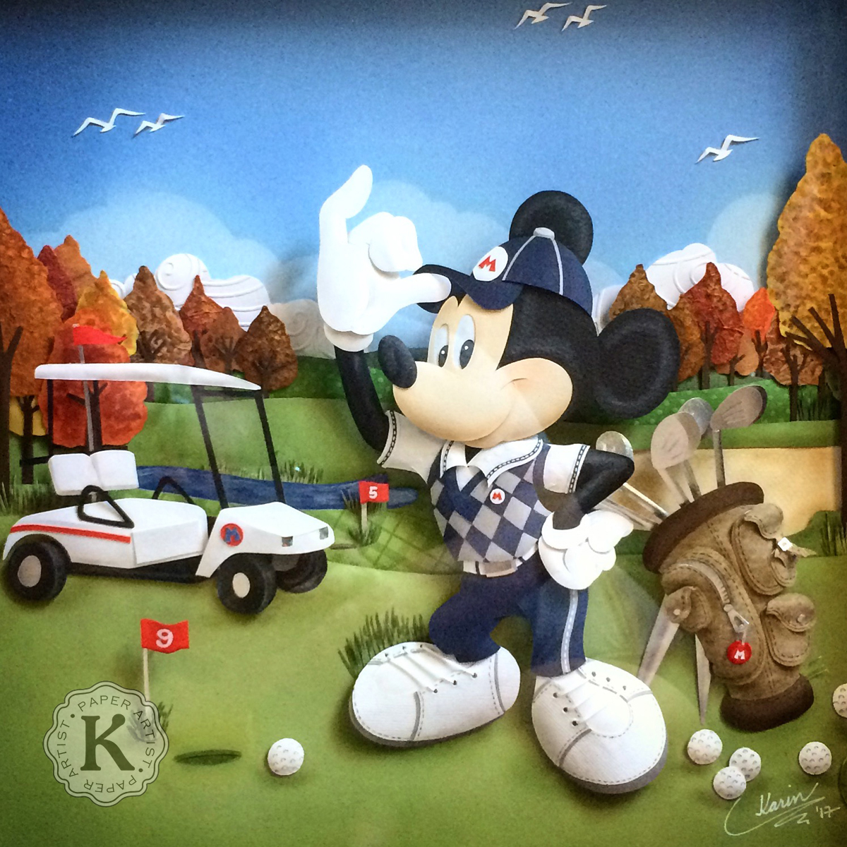 Karin Arruda - Mickey Golf