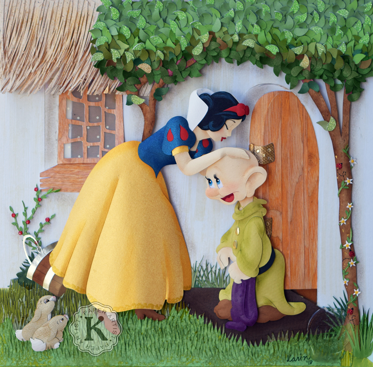 Karin Arruda - Snow White and Dopey