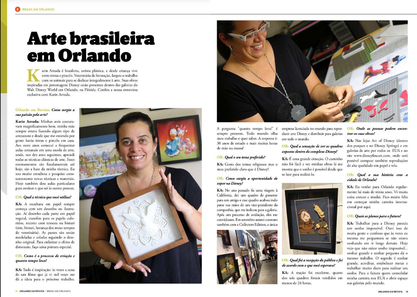 Karin Arruda - Brazilian Art at Orlando